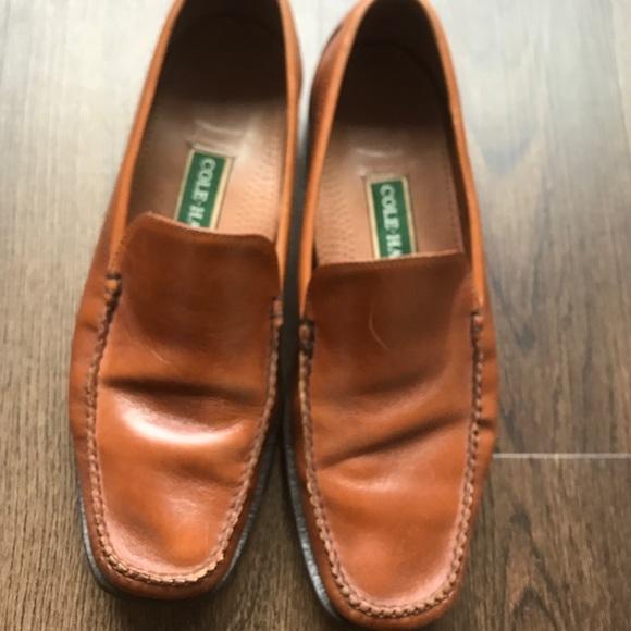 bc95eddf8 Cole Haan Shoes   Loafers Grand Venetian Tan Leather 11   Poshmark